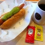 タリーズコーヒー - ボール パークドック アボカド¥350&コーヒー