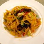 18363059 - シンプルな野菜炒めです。