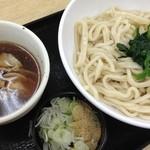 上里サービスエリア 下り - 2013/04 肉汁上里うどん680円