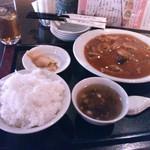 18363556 - 牛肉の四川煮セット600円