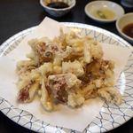河太郎 - 後づくりです。もちろん天ぷらです。