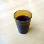 カフェテリアふじ - 朝食バイキング450円の巨峰ジュース