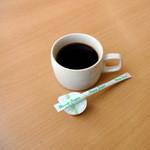 カフェテリアふじ - 朝食バイキング450円のコーヒー