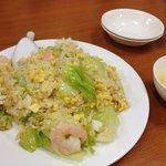 福来順 - 海鮮レタス炒飯780円。塩気といい油といい、抑え目で美味しい☆(第一回投稿分②)