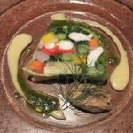 ラトリエ ド ルキャン - 料理写真:有機野菜のテリーヌ