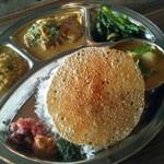 18371115 - ミールス(南インドカレー定食)
