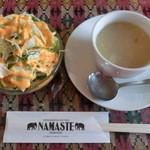 18371780 - '13/4 ランチのサラダとスープ