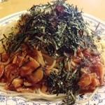 珈琲店ぴーぷる - あさりとしめじのトマトソース
