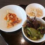 韓ダイニング - チヂミ、ナムル、サラダ(ランチセット)