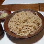 18374215 - わさび蕎麦切り(正面)