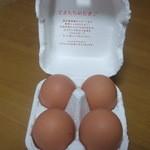 とよんちのたまご - 王卵4個(\160)♪