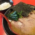 かわべ - チャーシュー麺¥790+ごはんセット¥10