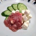 18376216 - 酒盗チーズ。日本酒を知りつくしているからこその味。