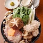 トリトリキッチン - 鶏鍋(2人前くらいの量です)