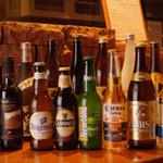 トリトリキッチン - カジュアルなボトルビールが人気です。