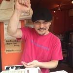 板付きたい焼き 東京ほおずき - 店長イケイケです。「掲載承諾済み」