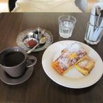 ひなた珈琲 - フレンチトーストセット
