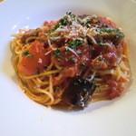 ワインハウス サノヤ - トマトスパゲティ