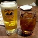 焼肉だん - ゴルフの後のビールが旨い季節になりました。