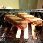 焼肉だん - サクっとしてフワ、旨い肉です。