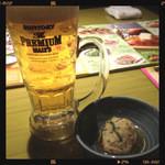 18386355 - お通しとビール
