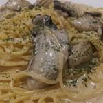 18386656 - 牡蠣のクリームソースパスタ