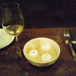 ヌガチン - 白菜と牡蠣のスープ(3月までのメニュー)