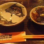 ちゃんぷる~ - お通しのもずく酢が美味い!