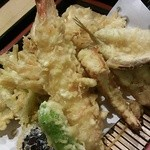 18391439 - ランチ「天ぷら定食」¥1050