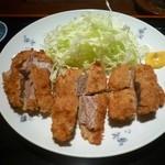 とん亭 - ひれかつ定食