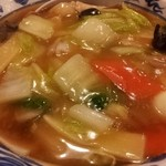 中山飯店 菖蒲店 - 五目拉麺☆680円☆