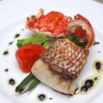 ブラッスリーイイズミ - 料理写真:真鯛ポワレ