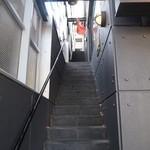 イスタンブール ハネダン - 階段を上がります