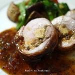 アルモニ - 料理写真:フォアグラを詰めた鶏モモのロースト
