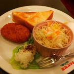 山ん馬 - 料理写真:基本のモーニングサービス