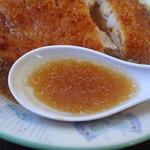 ふぁみりぃ佐藤軒 - 正油スープアップ