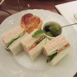 ロイヤルクリスタルカフェ - サンドイッチ
