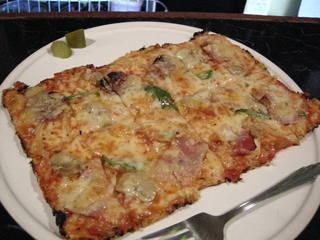 IG - 四角いピザ