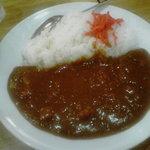 大沢食堂 - カレーライス 辛口 800円