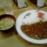 大沢食堂 - カレーライス&味噌汁