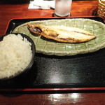 18401910 - 日替わり定食は鯖の文化干し