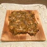 HASEGAWASAKETEN 酒友 - 蕗の薹味噌杉板焼き