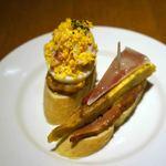 SPAIN BAR&CAFE Esperanza - タパス2品、トルティーリャと卵の何か?