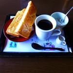 珈琲 菱屋 - モーニングセット(トースト)
