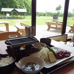 ホテルテレーノ気仙 - 料理写真:ラム焼肉定食