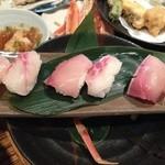 艶吉別邸 - 〆のお寿司