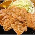 一龍食堂 - 生姜焼き