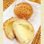 きんのすゞ - チーズフォンデュ¥130 フランスパンにカマンベールチーズを包みました