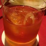 ヌーベルシノワ一品香 - 紹興酒、グラスで数杯飲んだ後に・・・