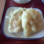 18406723 - 野菜天ぷら(れんこん、かぼちゃ) 105円